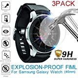 TPU Displayschutzfolie, Display Schutz Folie Tablet, Full Cover Film, Explosionsgeschützte, für Samsung Galaxy Watch, 46mm, 3Pack (Transparent)