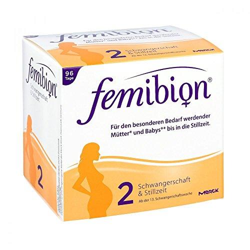 femibion 2 96 tabletten Femibion 2 Schwangerschaft und Stillzeit Tabletten und Kapseln, 96 Tage Packung