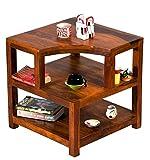#9: TimberTaste Opal Solid Wood Side Table (Teak Finish)