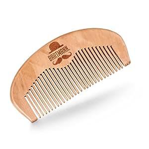 BARTMANN Bartkamm aus 100% Kirschbaumholz - Handarbeit - nicht statisch - Holzkamm - natur