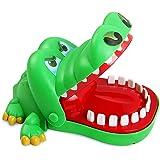 Sipobuy Crocodile Jouet Classique Bouche Dentiste Bite Doigt Famille Jeu Enfants Enfants Action Jeu de Compétence Jouet