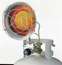 Dura Heat Single Radiant Tank Top Heater, 15,000 BTU- TT-15CSA