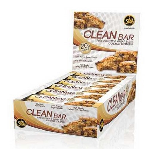 All Stars Clean Bar 18 x 60g Riegel Cinnamon Roll (Protein Cinnamon Roll)