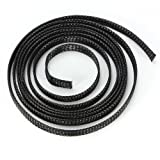 Water & Wood 8mm 1M Braided Expandable Auto Wire Cable Gland Sleeving High Density Sheathing