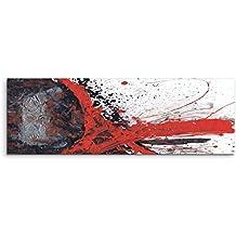 Alla Arancione Bianco Fiore Sneakers stampato rosso tela Dimensioni 3 zKGMV0Ix
