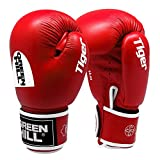 Greenhill TIGER Boxing Gloves (Red, 16 OZ)