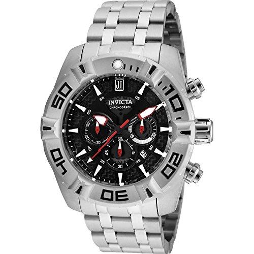 invicta-jason-taylor-herren-armbanduhr-armband-kunststoff-silber-quarz-24845