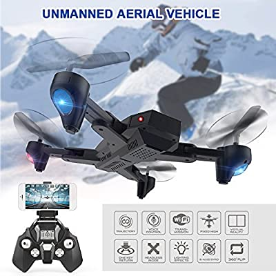 Bolange Fixed high folding large four-axis aircraft intelligent 4CH 6-axis 360-degree rolling LED lighting drone intelligent toy