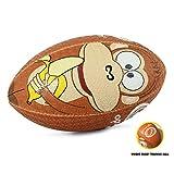 OPTIMUM Herren Monkey Rugby Ball 4 Mehrfarbig