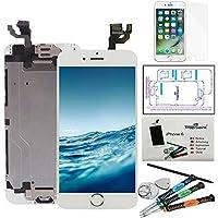 """trop saint Ecran Complet pour iPhone 6 (4,7)"""" LCD Blanc - Kit de Réparation avec Film Protecteur"""