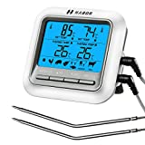 Habor Grillthermometer Bratenthermometer Barbecue Grill Thermometer digital Thermometer Fleisch...