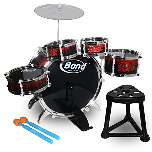 hzy-kinder-jazz-drum-kit-spielzeug-early-learning-instrument-musical-pdagogisches-set-mit-hocker