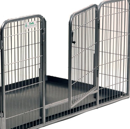 Crufts Safe and Sturdy Freedom Puppy Play Pen - 27 ins high 3