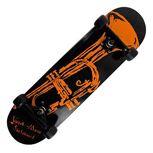 "GranVela MS108 31 ""Rock Series-Skateboard completo 1"