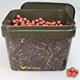 BAT-Tackle Böse Boilies 5,0Kg im 10L Realistric® Eimer 18mm Angry Straw