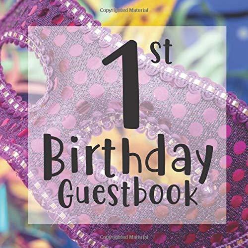 Masquerade Mask Ideen - 1st Birthday Guest Book: Carnival Masquerade