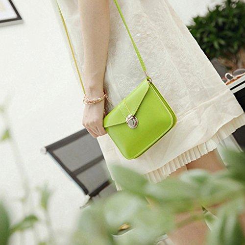 Gemini_mall, Borsa a tracolla donna Green