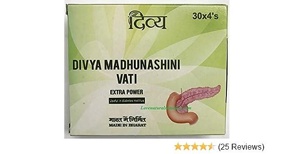 PATANJALI Madhunashini Vati with 120 Tabs (Pack of 1)