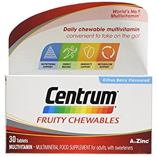 CENTRUM ADVANCE Fresh and Fruit Multivitamin Tablets, Pack of 30