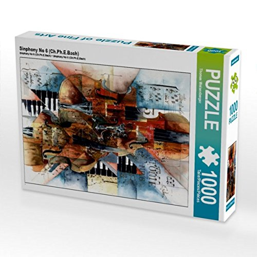 Sinphony No 6 (Ch.Ph.E.Bach) 1000 Teile Puzzle hoch