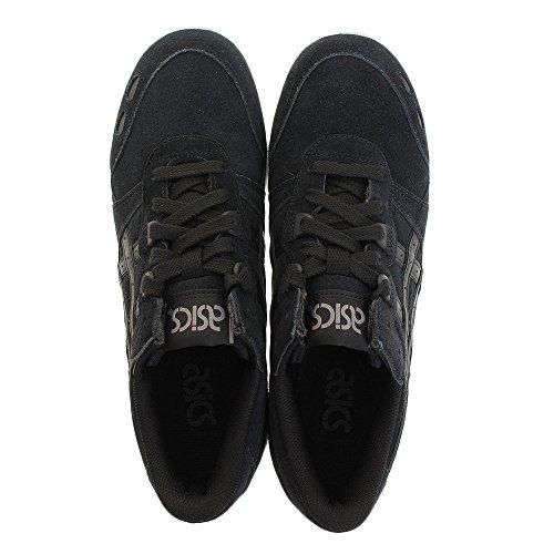 Asics Gel-lyte, Chaussures De Course À Pied Pour Homme Noir / Blanc