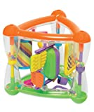 Funky Multi Activity Triangle Toy With Rattles, Spinners & Mirror - Suitable From 9 Months + - Funtime - amazon.co.uk