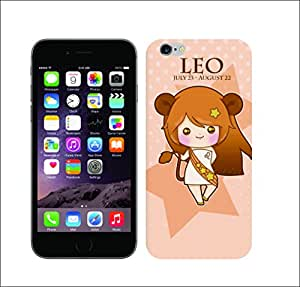 Galaxy Printed 1306 Zodiace Leo HARD COVER for Apple iphone 6