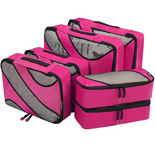 6-set-packing-cubes3-various-sizes-travel-luggage-packing-organizers-fushcia