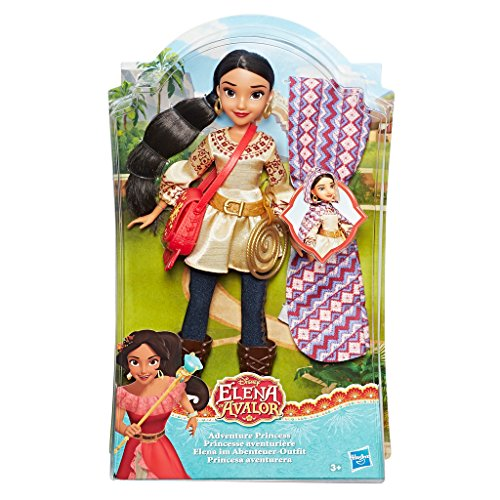 Hasbro Disney Elena von Avalor C0378EU4 - Elena im Abenteuer-Outfit, ()
