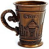 Souvenir Metal India Taj Mahal Shot Glass,Souvenir Cup For Decoration,Gifting