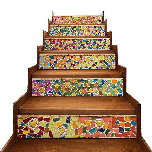 Especificaciones: 100% Nuevos Productos de Calidad Material: PVC Color: como se muestra en la imagen Tamaño: 18x100 cm / 7x39 pulgadas Cantidad: 6 piezas Caracteristicas: Material de PVC ecológico: hecho de material d...