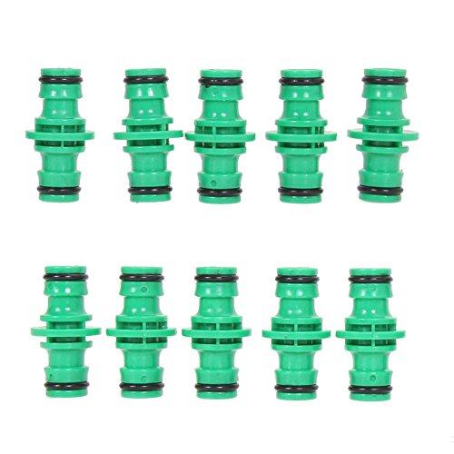 PB PEGGYBUY Bewässerungs-Set – Kunststoff Gartenwaschverbinder Wasserschlauch Rohrverbinder [10er-Pack]
