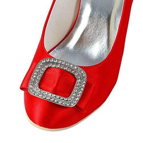 Minitoo , Escarpins pour femme Red-7.5cm Heel