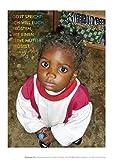 Jahreslosung 2016: Mädchen a. Kamerun; Postkarten im 10er Set: Gott spricht: Ich will euch trösten, wie einen seine Mutter tröstet. (Jesaja 66,13) -