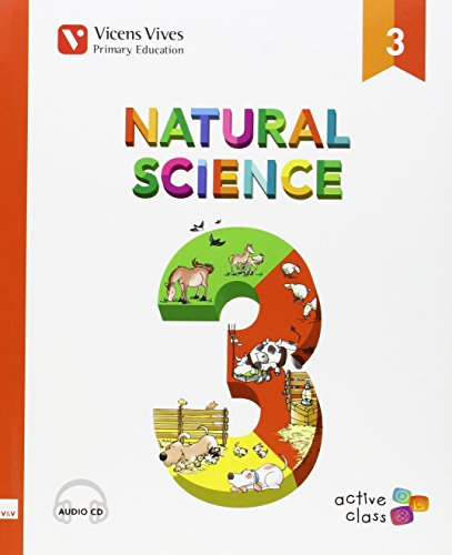 Natural Science 3 + Cd (active Class) Andalucia - 9788468231488