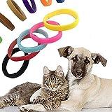 AchidistviQ Hundehalsband für Welpen, für Kleine Hunde, Katzen, Welpen, 12 Stück, Nylon, Zufällige Farbauswahl, Large