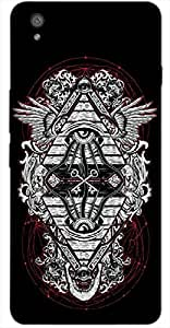Timpax Hard Back Case Cover Printed Design : A Fortune teller.Compatible with OnePlus-X