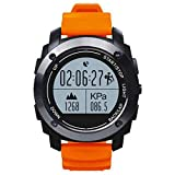 S928 Bluetooth Smartwatch Intelligente,GPS Orologio Da Polso,GPS professionale sport all'aria aperta,IP66 Vita impermeabile,1.5 pollici IPS rotonda touch screen,Notifiche Chiamate & SMS per Android 4.3 IOS 8,0 Sopra