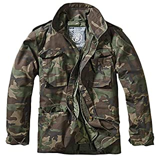 Brandit Herren M-65 Feldjacke Classic Jacke, Mehrfarbig (Woodland 10), XX-Large
