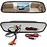 OEM 4.3-Inch Rear View Tft-Lcd Color Car Monitor And Car Rear View Camera Combo