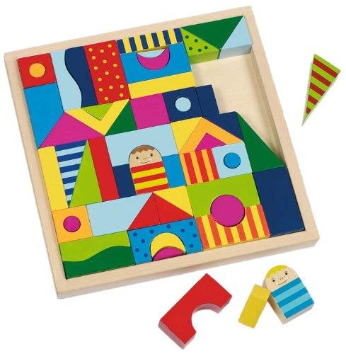 Imagen principal de Goki 58964  - Rompecabezas y bloques caja