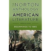 NORTON ANTHOLOGY OF AMER LITER: 1