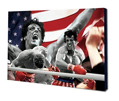 Rocky 4Special Edition Montage Film Leinwand 61x 40,6cm