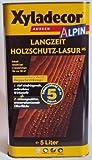 Xyladecor Alpin Langzeit Holzschutzlasur, Mittelschichtlasur, Farbton Eiche / 5 Liter
