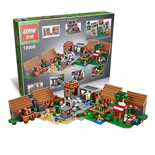 AIYA 1600+pcs Modellbau-Kits kompatibel mit Meine Welten Minecraft Village blockiert Hobbys für Bildungsspielzeug für Kinder