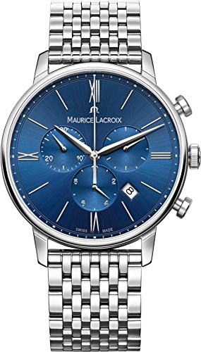 Maurice Lacroix Eliros EL1098-SS002-410-2 Herrenchronograph Swiss Made