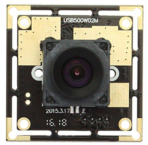 ELP Webcam USB 100 Grad Autofokus Objektiv HD 5 Megapixel Linux Windows Modul Kamera