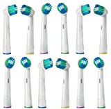 Generic Oral-B Compatible Toothbrush Replacement Heads, Pack of 3, 12-Piece
