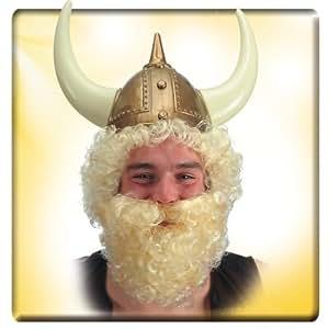 Barberousse vollbart wikingerbart neuf viking blond