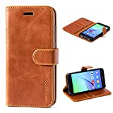 Mulbess Huawei P8 Lite 2017 Case Wallet, Leather Flip Phone